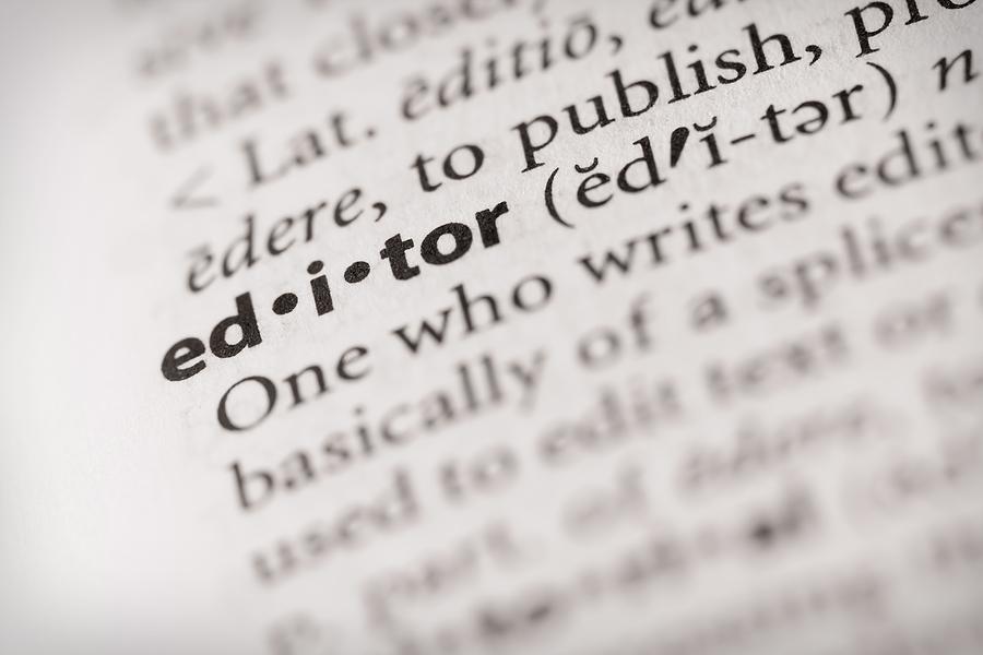 Dictionary - Editor